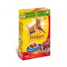 FRISKIES - CROCCHETTE Cat MANZO, POLLO E FEGATO 400g