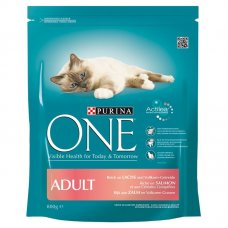 ONE - CROCCHETTE ADULT Cat SALMONE E CEREALI INTEGRALI 800g