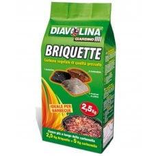 DIAVOLINA BRIQUETTE - 2,5kg