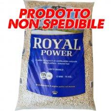SACCO PELLET 15KG - ABETE BIANCO 'ROYAL POWER' - C.CA 15KG -CERTIFICATO A1
