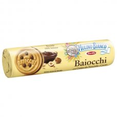 MULINO BIANCO - BAIOCCHI NOCCIOLE CACAO 168GR