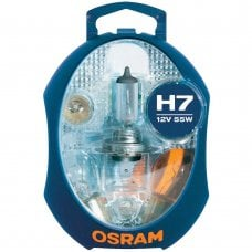 Minobox con lampada 12V - ECE H7