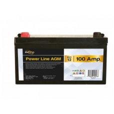 BATTERIA POWER-LINE AGM - 100AH - LXAXP 306 X 215 X 169 MM