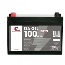 BATTERIA POWER LINE GEL - 100AH DIM.:306 X 215 X 169 MM.