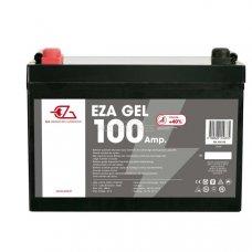 BATTERIA POWER LINE GEL - 100AH DIM.:306 X 215 X 169 MM.
