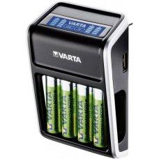 CARICABATTERIE - LCD PLUG CHARGER + 4XAA 2100 MHA