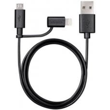 CABLE 2 IN 1 USB - LIGHT 1MT