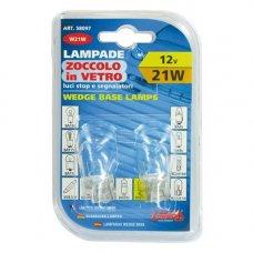 COPPIA LAMPADINE  12V. W3X16D 21W