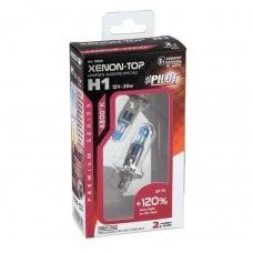 COPPIA LAMPADE XENON-TOP =H1= +120% 12V 55W