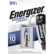 Energizer Ultimate - Litio (Lithium Manufactured) - TRANSISTOR 9V