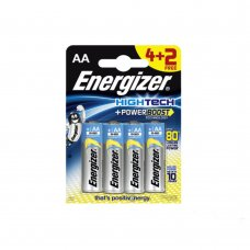 ENERGIZER HIGH TECH - ALCALINA (PERFORMANCE) - STILO AA 4+2 FREE