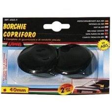 COPPIA BORCHIE C/FORO DIAM.40