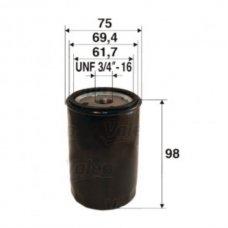 FILTRO OLIO DUCATO 81>94 - 2.5D/------90>941.9TD-----94>01 - 1.9D/1.9TD
