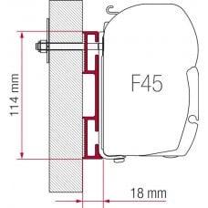 ADAPTER D 08 CM - F45