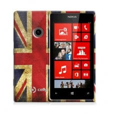UK FLAG TPU LUMIA 520