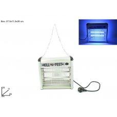 LAMPADA INSETTI ALLUMINIO 2 TUBI X 6W ZD-12W/1
