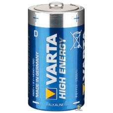 VARTA - D (torcia) - High Energy x2