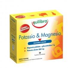 POTASSIO & MAGNESIO 20 BUSTE - 140 G