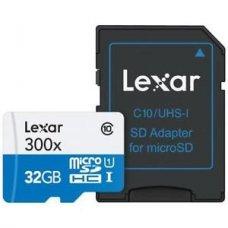 SCHEDA MEMORIA - 32GB MICROSDHC HIGH SPEED WITH ADAPTER (CLASS 10)