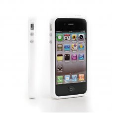 PROMO WHITE BUMPER 'BELT' FOR IPHONE 4/4S