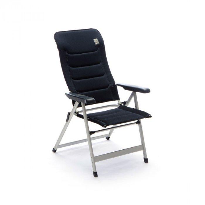 Sedie Sdraio Pieghevoli Alluminio.Sedia Sdraio Pieghevole In Alluminio 7 Posizioni Cursa Imbottita