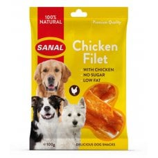 SANAL CHICKEN FILET SNACK CANE 100GR