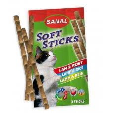 SANAL SOFTSTICK  GATTO 15G.- 3 PZ - AGNELLO E RISO