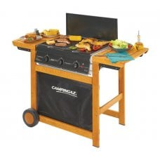 BARBECUE A GAS CAMPINGAZ - ADELAIDE 3 WOODY DUAL GAS