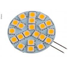 LAMPADINA LED G4, 3W, 270 LUMEN, 21 BIANCO CALDO SMD