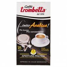 18 CIALDE CAFFE TROMBETTA TUTTO ARABICA