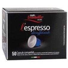50 CAPSULE COMPATIBILI NESPRESSO DECAFFÈ