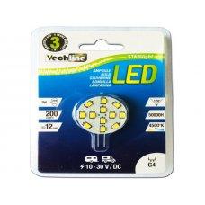LAMPADINA LED 12V G4 - 200 LUMEN - BIANCO NEUTRO