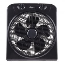 BOX FAN - VENTILATORE A TERRA DIAMETRO 30 CM 5 PALE COLORE NERO