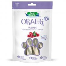 BEST FRIEND ORAL-G BEST FRIEND-ORAL-G TWISTER MIRTILLO E CICORIA75G 1,2 X 9,5 X
