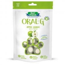 BEST FRIEND ORAL-G BEST FRIEND-ORAL-G APPLE SNACK ALLA MELA,75G 2,5 X 1 X 0 CM