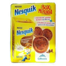 KIT NESQUIK BOX MERENDA
