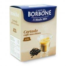 BORBONE - CAPSULA A MODO MIO CORTADO PACK 16 PZ