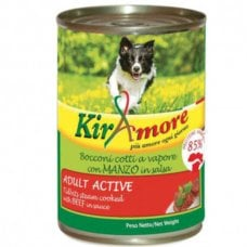 KIRAMORE ADULT ACTIVE CON MANZO 415GR