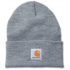 CAPPELLO CARHARTT - C-A18HGY000 ACRYLIC WATCH CAPS GREY - ONE SIZE