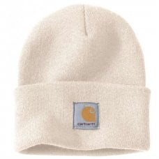 CAPPELLO CARHARTT - C-A18WWH000 ACRYLIC WATCH HAT WINTER WHITE OFA