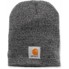 CAPPELLO CARHARTT - C-A205093 ACRYLIC KNIT HAT GREY/COAL HEATHER ONE SIZE