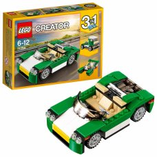 LEGO DECAPPOTTABILE VERDE