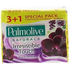 SAPONE PALMOLIVE BLACK ORCHIDEA 3+1 90GR