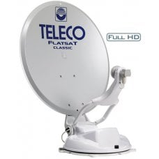 ANTENNA SATELLITARE TELECO FLATSAT CLASSIC BT 65 - 16 SATELLITI