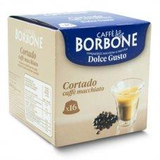 16 CAPSULE BORBONE DOLCE GUSTO - CORTADO CAFFE MACCHIATO