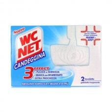 WC NET TAVOLETTA SOLIDA EXTRA WHITE PZ.2 CON CANDEGGINA