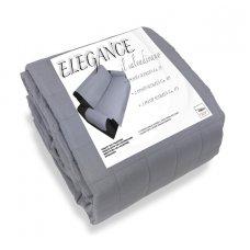 COPRIDIVANO ELEGANCE 3P 280X180CM GRIGIO