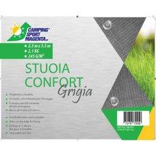 STUOIA VIAMONDO GRIGIA - 2,50X5,50 METRI - 3,4 KG - 245 G/M²