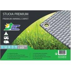 STUOIA PREMIUM VIAMONDO GRIGIA 2,50X4,50 METRI - 5,4 KG - 480 G/M