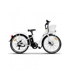 BICICLETTA ELETTRICA - THE ONE E-BIKE LIGHT WHITE - RUOTE DA 26